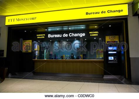 bureau de change office operated by moneycorp terminal stock photo royalty free image