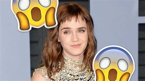 Emma Watson Shows Off Huge New Time Tattoo With