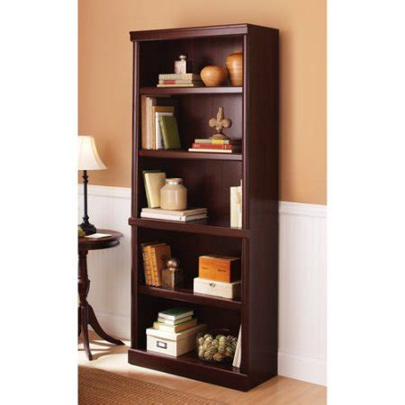 How To Build A 5 Shelf Bookcase by Better Homes And Gardens 71 Quot Ashwood Road 5 Shelf Bookcase