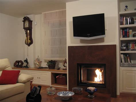 cassette de chimenea chimeneas cide cassette con revestimiento y mueble