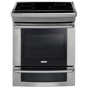 Wave-Touch 4.2 cu. ft. Slide-In Double Oven Induction Range with Convection Oven in Stainless Steel-DISCONTINUED