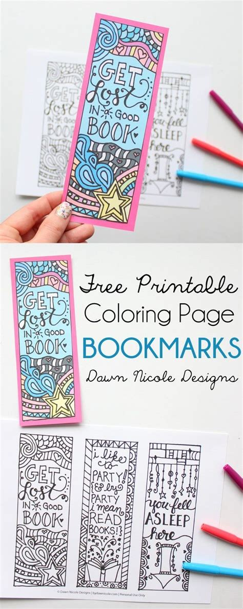 free printable bookmarks 15 easy ideas to diy bookmarks pretty designs