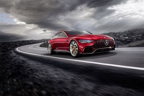 Mercedes Amg Reveals A Special Concept Vehicle