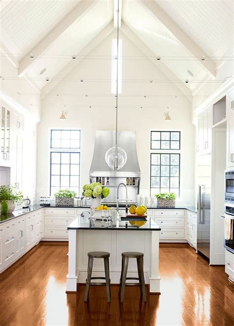 kitchen cabinets upper kitchens without farmhouse lighting modern storage traditional uppers open windows traditionalhome trends bright decor window tall comment