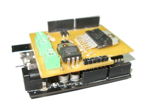 Diy Arduino Motor Shield For Only Use
