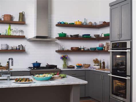 21+ Wonderful Kitchen Interior Open Shelving