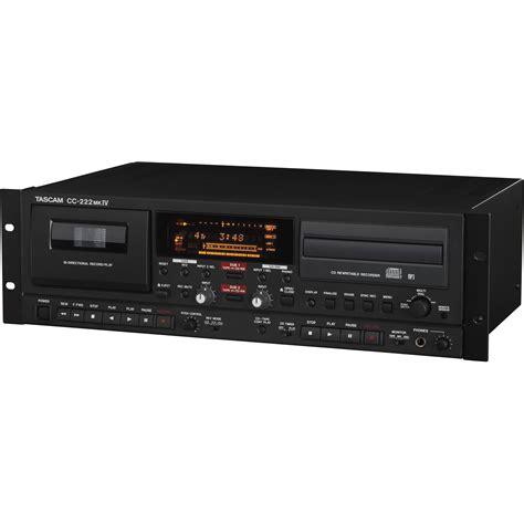 cd cassette recorder tascam cc 222mkiv professional cd recorder cassette cc 222mkiv