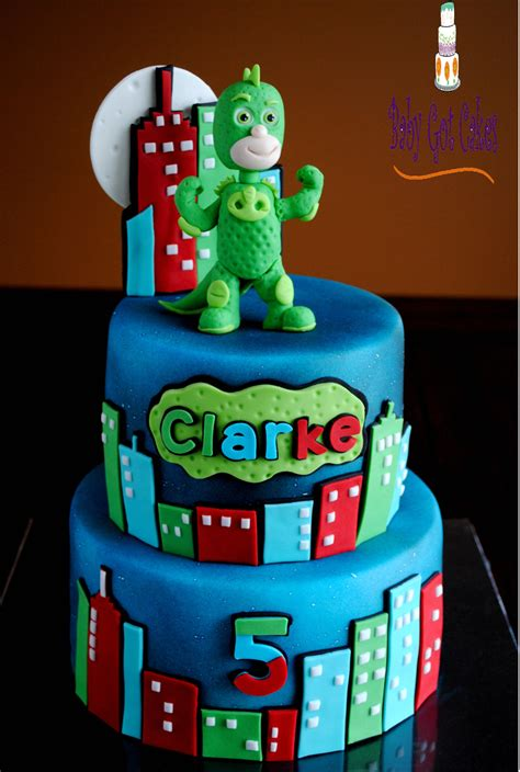 pj masks gekko cakecentralcom