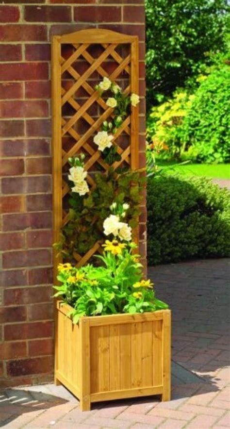 Wooden Garden Trellis by Details About Wooden Garden Trellis Lattice Planter Patio
