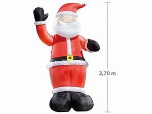 Weihnachtsdeko Für Geschäfte : infactory aufblasbarer nikolaus winkender leucht weihnachtsmann aufblasbar 270 cm ~ Sanjose-hotels-ca.com Haus und Dekorationen
