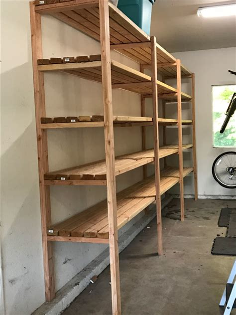 ana white garage shelves diy projects
