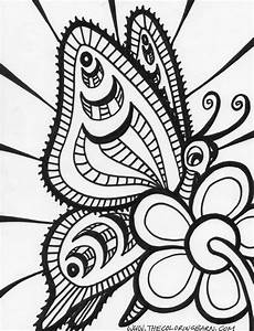 Abstract Coloring Pages For Adults - Coloring Home