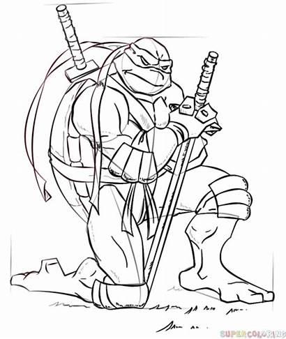 Draw Ninja Turtles Leonardo Step Drawing