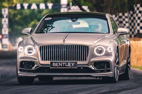 bentley flying spur ride review auto express