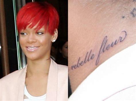Le Nouveau Tatouage Raté De Rihanna (photos Et Video