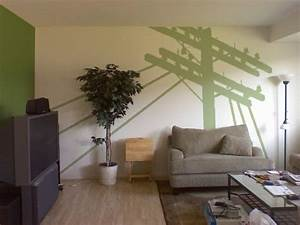 Wand Streichen Ideen Grün : wohnzimmer streichen 106 inspirierende ideen ~ Markanthonyermac.com Haus und Dekorationen