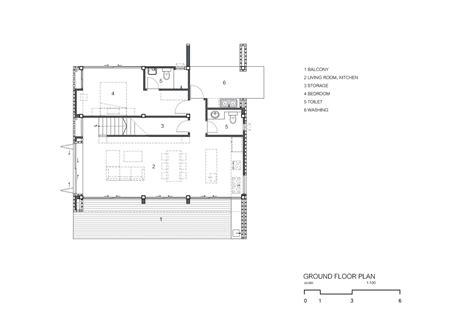 2828 ground floor plan gallery of ck house scale studio 17
