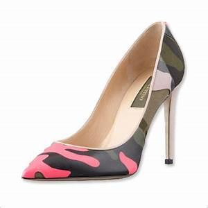 Valentino Rockstud Neon Camo Pumps Shoeaholics Anonymous