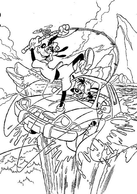 kids  funcom  coloring pages  goofy