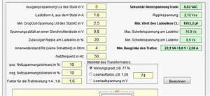 Spannungsabfall Kabel Berechnen : einfaches netzteil berechnen ~ Themetempest.com Abrechnung