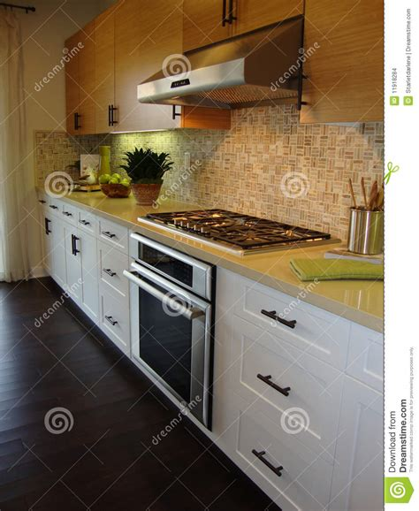 chocolate kitchen cabinets beautiful kitchen with wood floors stock images image 6429