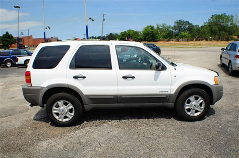 Ford Escape 2001 by 2001 Ford Escape Xlt White 4x4 Suv Sale