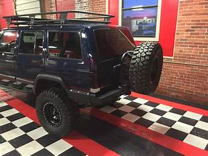 Blue 1997 Jeep Cherokee Xj  U2014 Nfi Empire