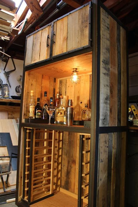 diy pallet bar entertainment center great idea
