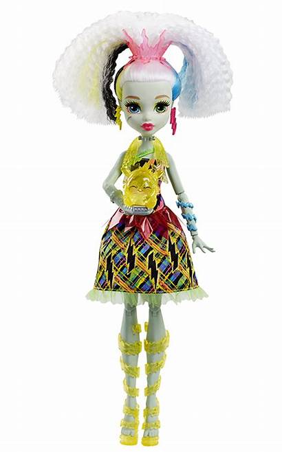 Frankie Stein Monster Draculaura Characters Clawdeen Wolf
