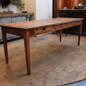 Table Ancienne De Ferme : ancienne table de ferme en bois ~ Teatrodelosmanantiales.com Idées de Décoration
