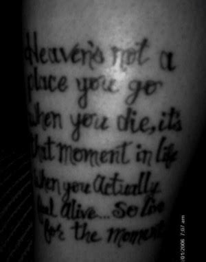tattoo quotes  death quotesgram