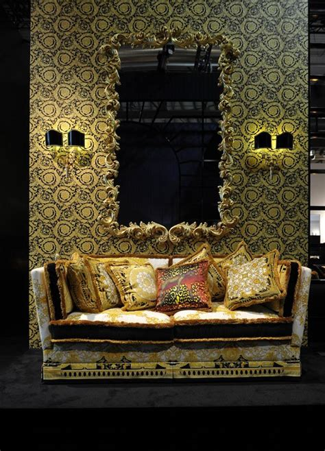 versace home love  cushions   mirror versace
