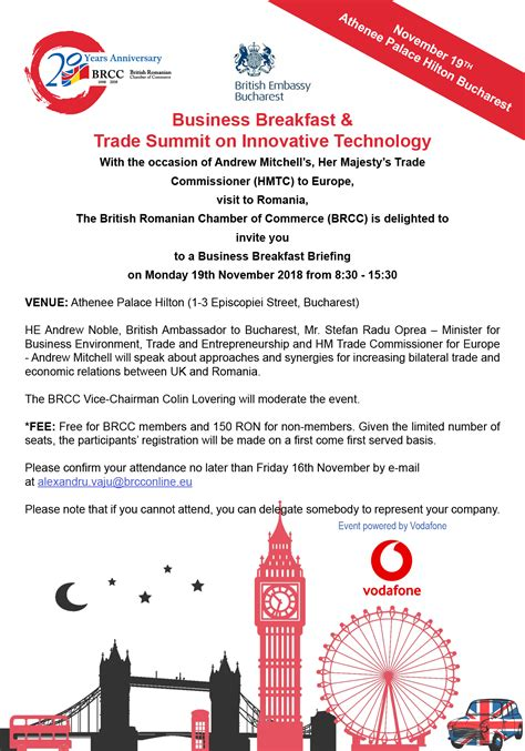 trade delegation innovative technology powered vodafone brcc