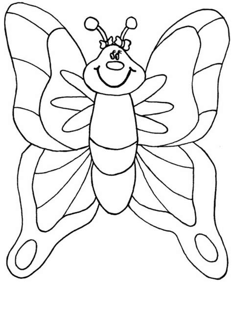 kids butterfly coloring pages  preschool animal coloring spring coloring pages butterfly