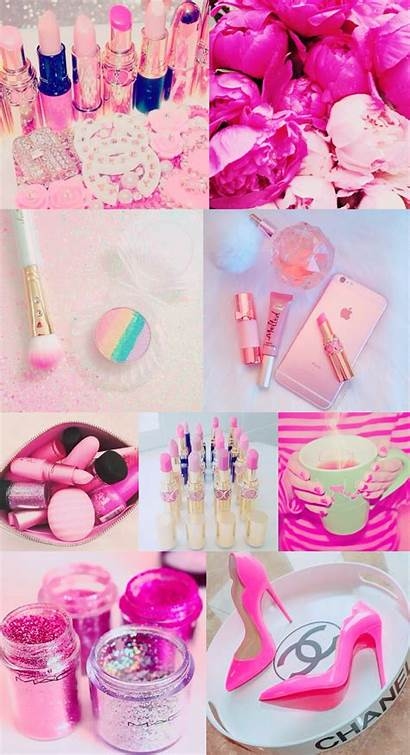 Iphone Girly Wallpapers Pink Collage Pretty Background