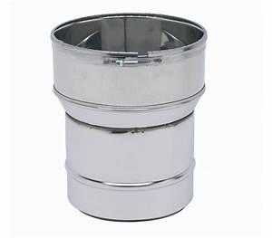 Tubage Exterieur Cheminée Inox : raccord poele tubage inox ten pour po le bois comptoir ~ Edinachiropracticcenter.com Idées de Décoration