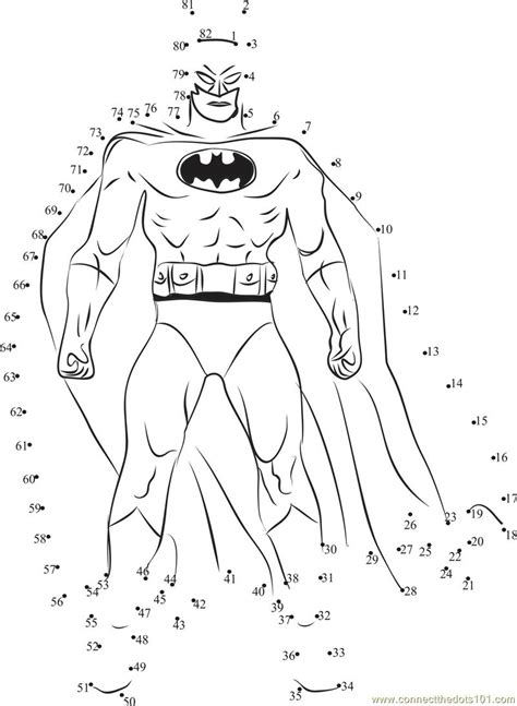 batman connect the dots worksheets 2 171 preschool and