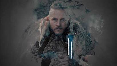 Ragnar Vikings Wallpapers Pc Lothbrok Tapety Pantalla