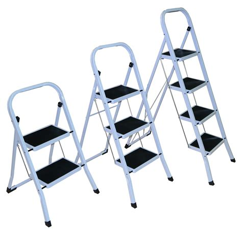 Strong 2 3 4 Folding Step Ladder Non Slip Matt Stepladder. Red Kitchen Door Handles. Kitchenaid Dishwasher Kdte104ess. Kitchen Table Desk. Design Your Dream Kitchen