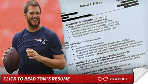 Tom Brady Resume Tweet by Tom Brady Hardest Worker I Had Says