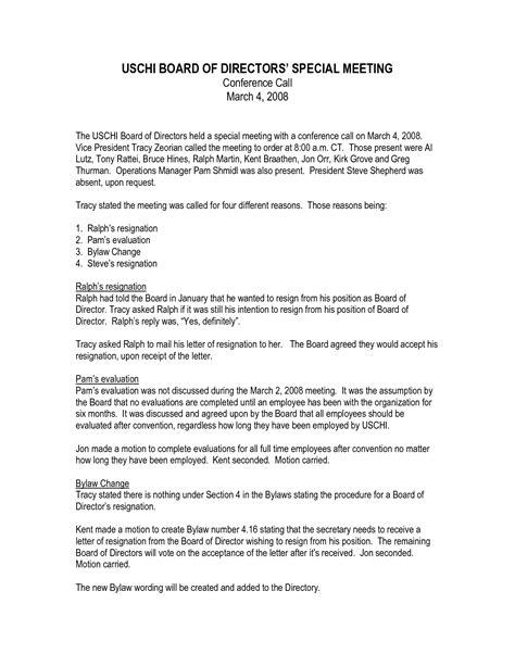 letter format  list  directors letters  sample