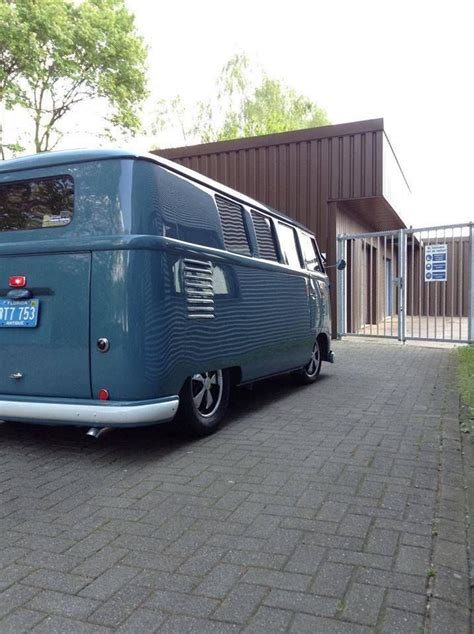 Dove Blue VW Bus