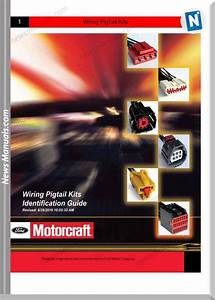 Ford Connector 2010 Wiring Pig Tail Kits Catalog Guide