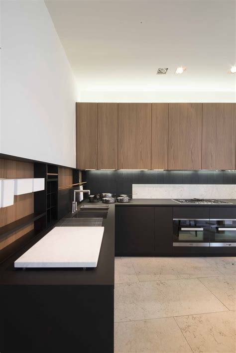 door cabinets kitchen kitchen top in fenix ntm gives this kitchen a minimal 3427