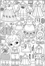 Paper Dolls Printable Ak0 Snoopy Frozen Barbie Doll Coloring sketch template