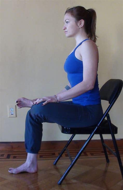 Piriformis Stretch Sitting On A Chair