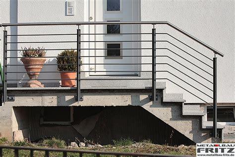 Treppengeländer Für Außen by Treppengel 228 Nder Au 223 En 09 01