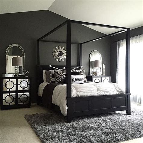 Bedroom Paint Ideas Black Furniture by How To Decorate Your Bedroom With Black Bedroom Furniture
