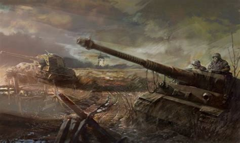 concept art  image company  heroes opposing fronts