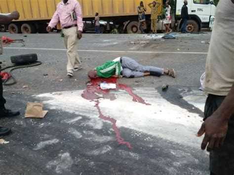 Graphic Pictures From The Horrific Accident On Lagos